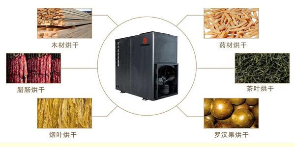 同益空气能烘干热泵